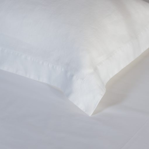 Soho Soft Washed Linen white detail